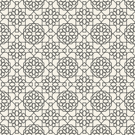 Abstract seamless geometric islamic wallpaper pattern for your design Stock Vector - 38018530