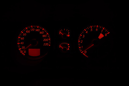 tachometer: Fuel, tachometer, and speedometer as a background