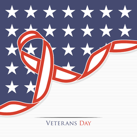 Veterans Day abstract background for your design