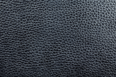 black leather texture: Closeup of black leather texture as background