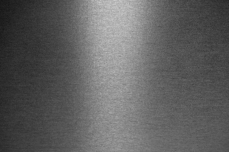 simple background: Smooth brushed metallic texture as a background