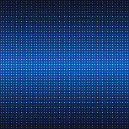dark blue: Abstract wall of neon lights background for your design