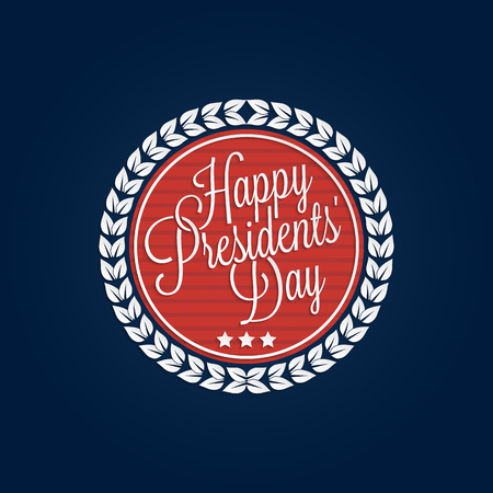 presidents: Happy Presidents Day lettering for your design