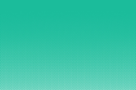 Abstract dotted background. White dots on turquoise background. Vector illustration of abstract polka dots pattern for your design Vector Illustration