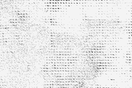 Grunge overlay stucco wall texture. Vector illustration of black and white abstract grunge background for your design