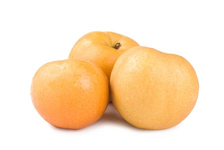 Japanese pear, popular fruit in asia photo