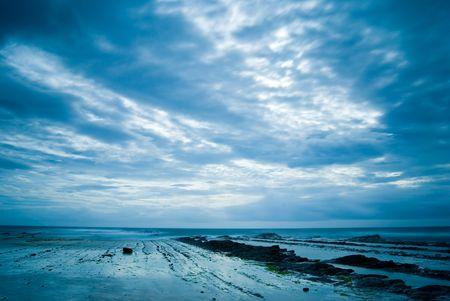 seacoast: Rocky Seacoast with wave, Taiwan, East Asia