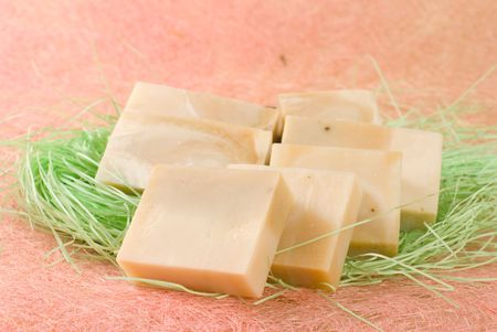 exquisite handmade soap,add natural herb. photo