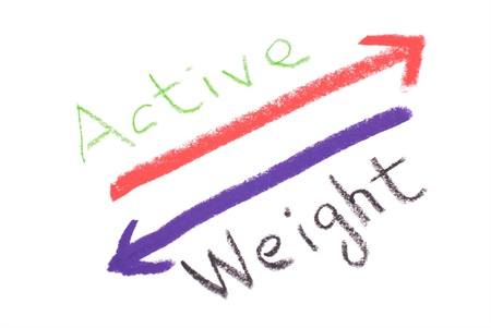 keeping: Keeping active and loosing weight, lifestyle concept.