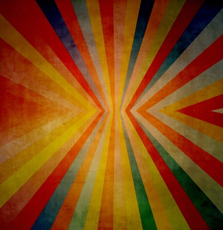 radiative: Grunge paper background with radiative line and colors