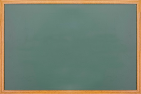 New blank blackboard with wooden frame Stock Photo - 9809488