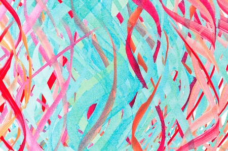 Abstract watercolor design with stylized as background  Art is created and painted by photographer  photo