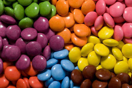 smarties: All the colors of smarties been sorted
