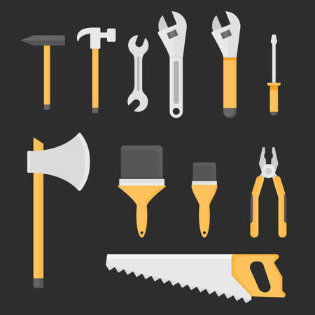 Tool Vector Illustration stock illustration