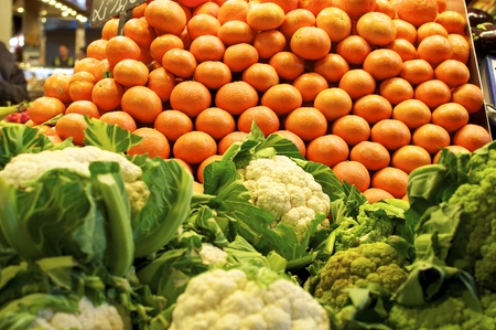 fruit and vegetables at the marketplace Stock Photo - 9685538
