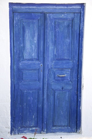 an old door to entrance
