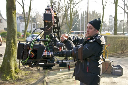 feature films: Shooting for a TV Movie in with a Movie camera Editorial