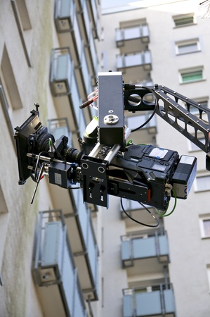 feature films: Shooting for a TV Movie  Editorial