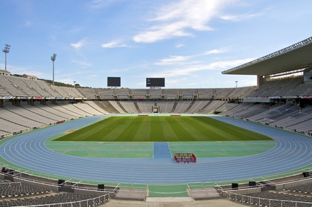 Olympic Stadium Llu�s Companys  The Olympic Stadium in Barcelona