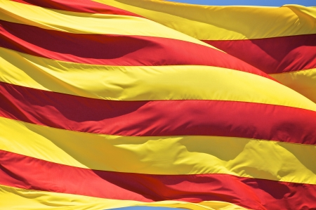 The Catalan national flag