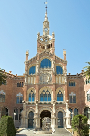 The Hospital de la Santa Creu i Sant Pau is a hospital in Barcelona photo
