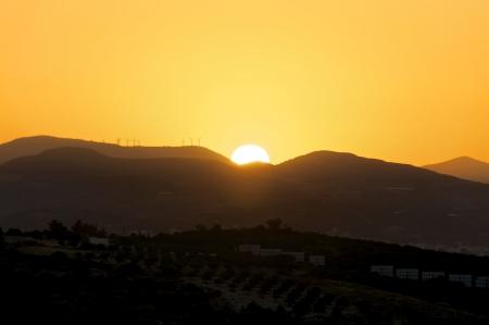ida: Sunrise in the Ida Mountains on Crete