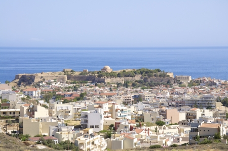 fortezza: n Rethymno on Crete  Rethymno is lovely nice city with a wonderful old city part and venetian port