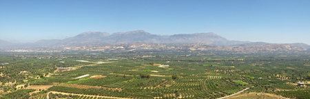 ida: Messara plain in southern Crete  In the background the IDA mountains with the Psiloritis