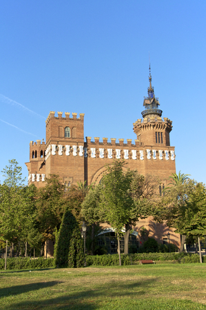 modernisme: Museum  Castell dels Tres Dragons , a museum today, was built to the world exhibit in 1888