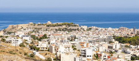 fortezza: Panorama picture from Rethymno on Crete