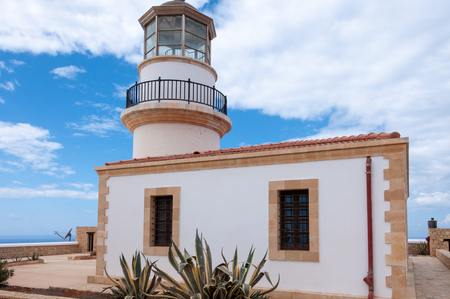 southernmost: Lighthouse on the Iceland Gavdos in Greece. The lighthouse is located on the south west coast near the village of Ambelos. So It is a history museum of pictures from lighthouses on the Iceland. It is the southernmost lighthouse in Greece Editorial