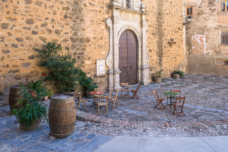 Gratallops in the province of Priorat, Stock Photo