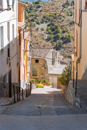 The village of El Lloar, in the province of Priorat, Spain