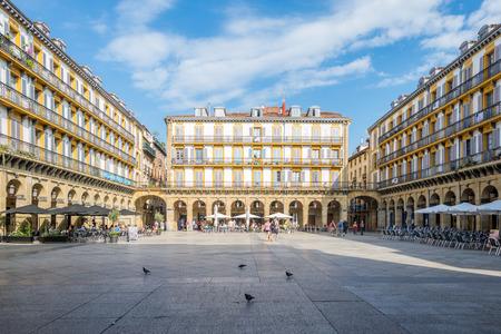 Plaza de la Constitution is a former bullfight ring