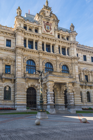 The Biscay Foral Delegation Palace in the Basque city of Bilbao is a eclectic mansion, built between 1890 and 1900. It is the seat of the executive branch of Government of Biscay Editorial