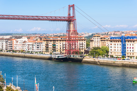 The Vizcaya Bridge is a transporter bridge that links the towns of Portugalete and Las Arenas close to Bilbao, Basque Country, Spain. It is the worlds oldest transporter bridge and was built in 1893