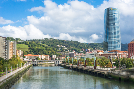 The Iberdrola Tower, Basque Iberdrola dorrea, is the tallest building in the Basque Country and Bilbao. The tower has 165 meters and 40 floors