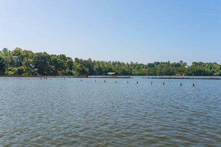 The Hikkaduwa Lake in the north-east of the same touristy town Hikkaduwa