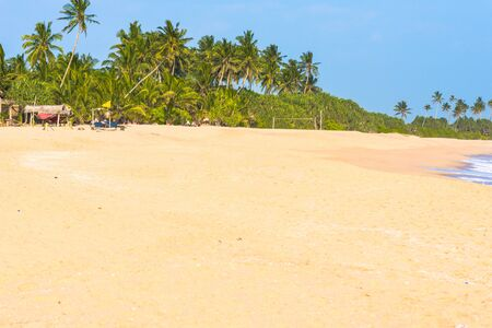 The scenic Medaketiya beach in the east of Tangalle, situated in the southern province of Sri Lanka