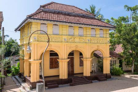 Buddhist monastery Sunandarama Maha Vihara. The monastery, situated in Ambalangoda, is more than 250 years old Editorial