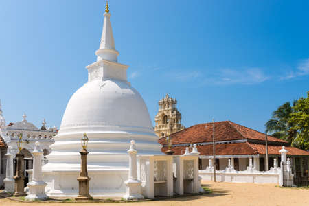 Archaeological Protected Monument and Buddhist monastery Sunandarama Maha Vihara. The monastery, situated in Ambalangoda, is more than 250 years old
