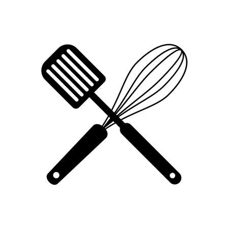 Whisk And Spatula Clip art, Vector Ilustrace