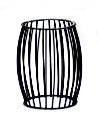 deceit: Cage. A visual deceit. Not clear zone of focus.