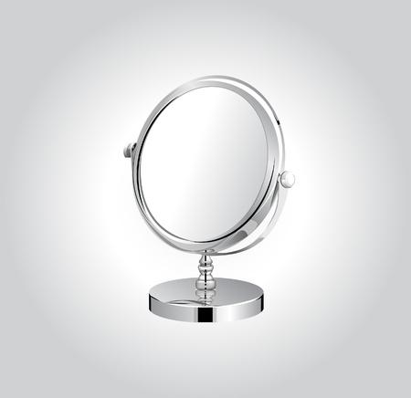 regard: Vecteur miroir de maquillage