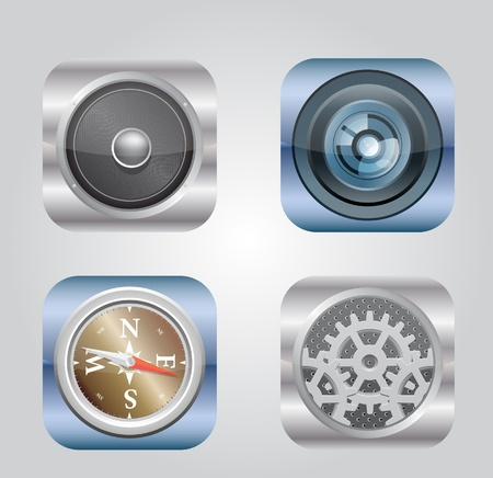 Vector illustration of apps icon