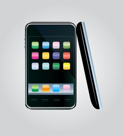 Vector smartphone Stock Vector - 12290669