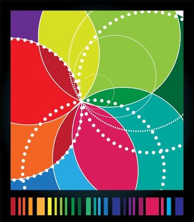 spirograph: Spirograph background  spirograph illustration