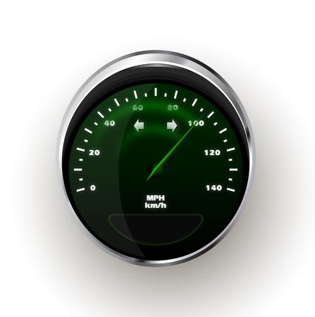limit: realistic Speedometer