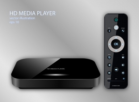 Hd Media Player Vector