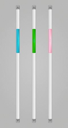 navigation bar: Sliders Scroll web bars Set